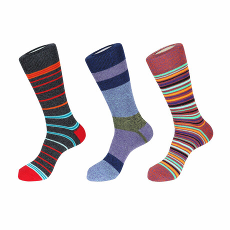 Ray Boot Socks // 3 Pack