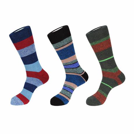 Leon Boot Socks // 3 Pack