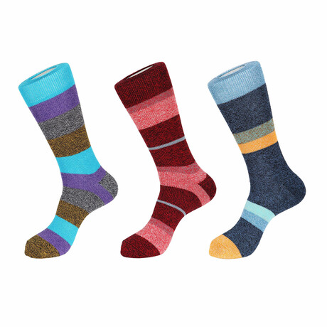 Bahamas Boot Socks // 3 Pack