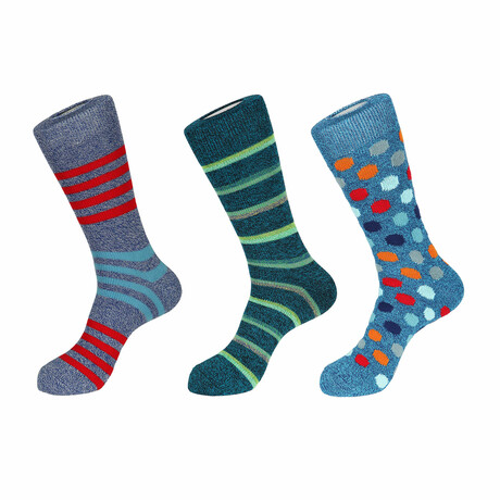 Maui Boot Socks // 3 Pack