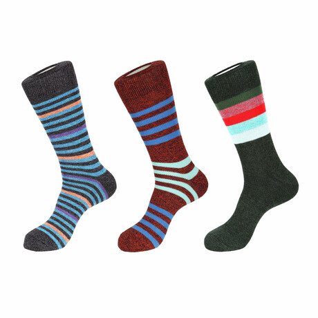Monte Carlo Boot Socks // 3 Pack