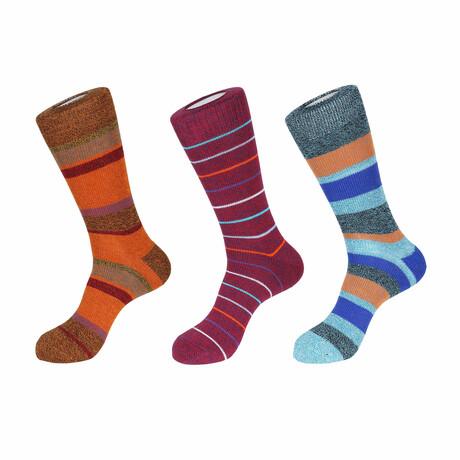 Milan Boot Socks // 3 Pack