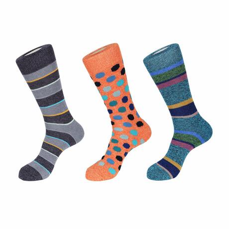 Tahoe Boot Socks // 3 Pack