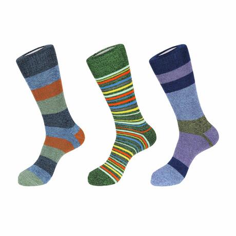 Sedona Boot Socks // 3 Pack