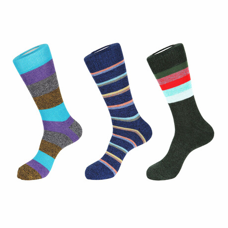 Aloha Boot Socks // 3 Pack