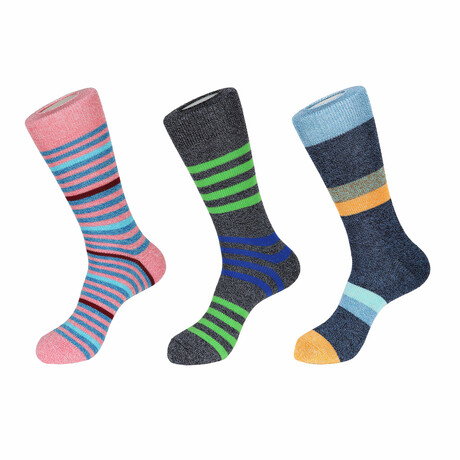 Muir Boot Socks // 3 Pack