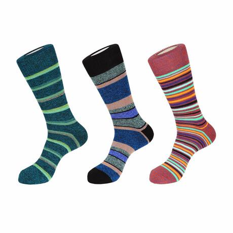 Venice Boot Socks // 3 Pack