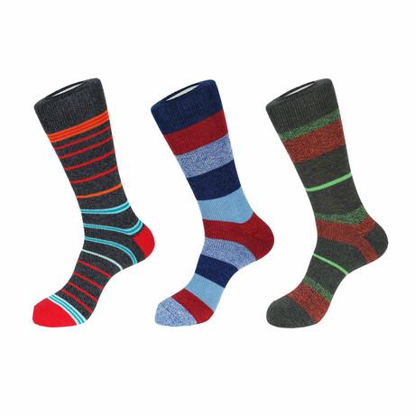 Lake Boot Socks // 3 Pack