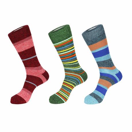 Bend Boot Socks // 3 Pack