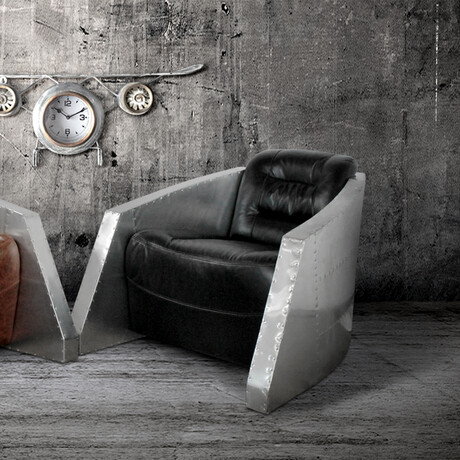 Aviator Bullet Leisure Arm Chair