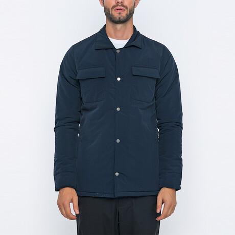 Jimmy Bomber Coat // Navy (S)