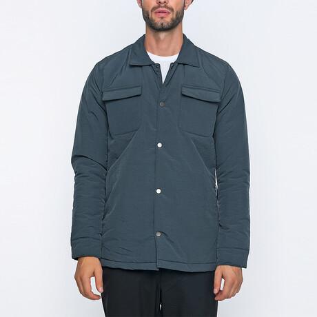 Gary Bomber Coat // Anthracite (S)