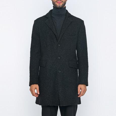 Tyler 3-Button Winter Coat // Black (S)