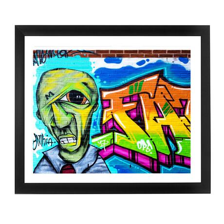 ALIEN GRAFITTI (Black Frame)