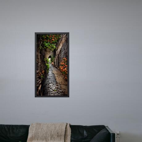 "Vollenloopen // Framed Canvas (22""H x 12""W x 2""D)"