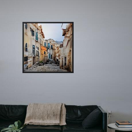 "Kruricaj // Framed Canvas (14""H x 14""W x 2""D)"