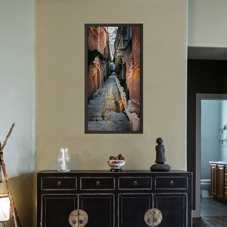"""Huneracal // Framed Canvas (22""""H x 12""""W x 2""""D)"""