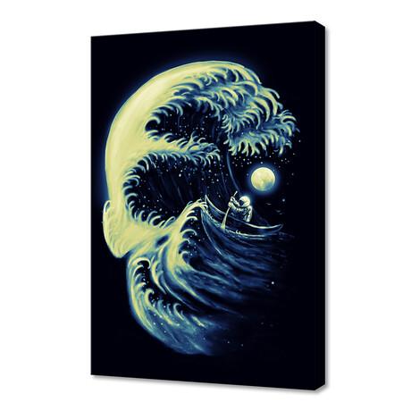 """Death Wave (12""""H x 8""""W x 0.75""""D)"""
