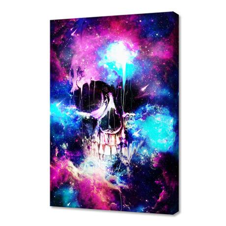 "Space Skull (12""H x 8""W x 0.75""D)"
