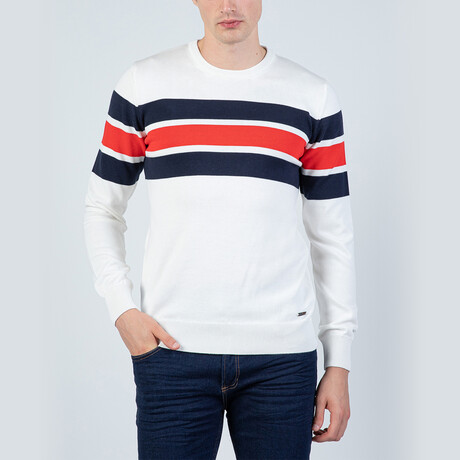 Lenny Pullover Sweater // Ecru (S)
