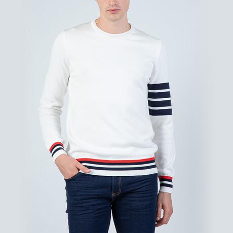 June Pullover Sweater // Ecru (S)
