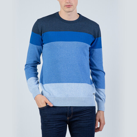 Carter Pullover Sweater // Indigo (S)