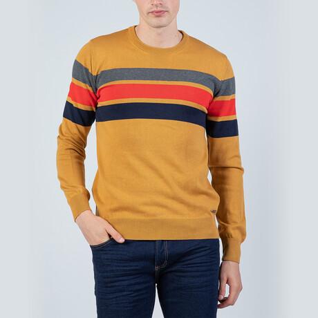 Austin Pullover Sweater // Mustard (S)