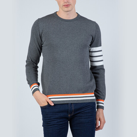 Dillan Pullover Sweater // Anthracite (S)