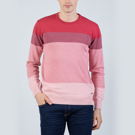 Cruz Pullover Sweater // Bordeaux (S)