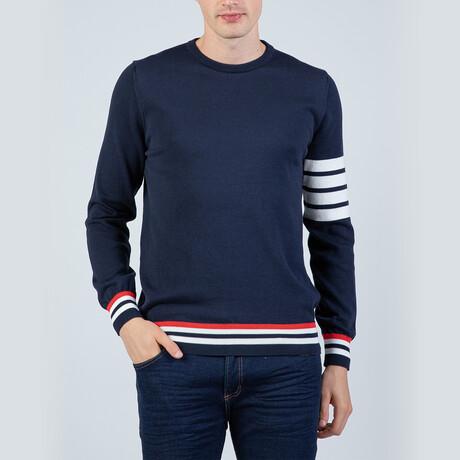 Dane Pullover Sweater // Navy (S)