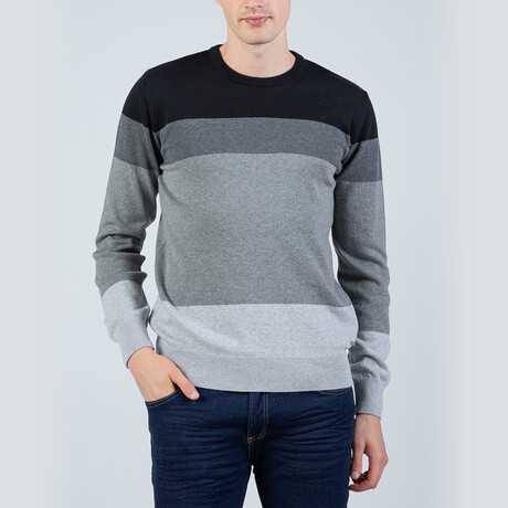 Marshall Pullover Sweater // Black (S)