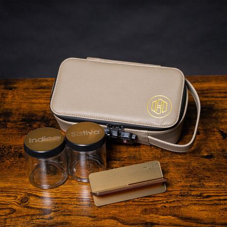 Stealth Case // Sandstone + Gold
