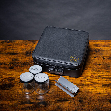 Large Stealth Kit + Travel Bag // Black + Silver