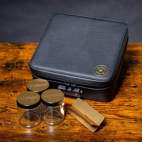 Large Stealth Kit + Travel Bag // Black + Gold