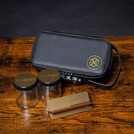 Stealth Case // Black + Gold