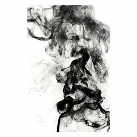 """Gray Smoke (24""""H x 16""""W x 1.8""""D)"""