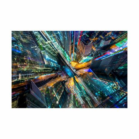 """City Limits (16""""H x 24""""W x 1.8""""D)"""
