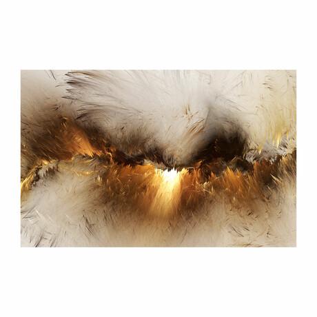 """Golden Sparks Ver. 1 (16""""H x 24""""W x 1.8""""D)"""