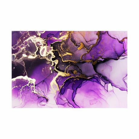 """Liquid Grapes (16""""H x 24""""W x 1.8""""D)"""