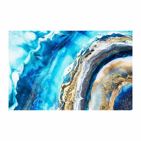 "Blue Arches (16""H x 24""W x 1.8""D)"