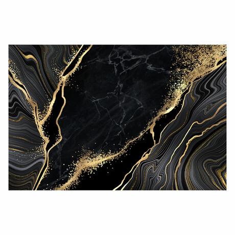 "Gold Traces (16""H x 24""W x 1.8""D)"