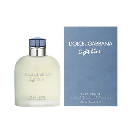 Dolce & Gabbana // Men's Light Blue Pour Homme // 200mL