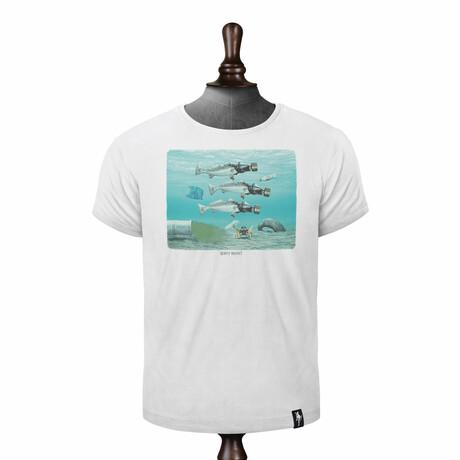 Seasick T-Shirt // Vintage White (XS)