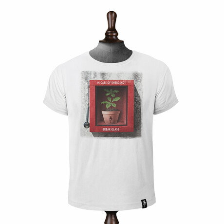 Breaking Point T-Shirt // Vintage White (XS)