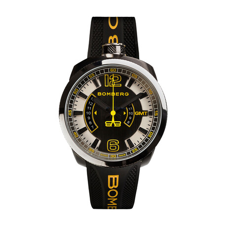 Bomberg Bolt 69 GMT Quartz // BS45GMTSP.027.3 // Store Display
