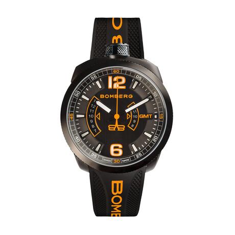 Bomberg Bolt 68 GMT Quartz // BS45GMTPBA.026.3 // Store Display
