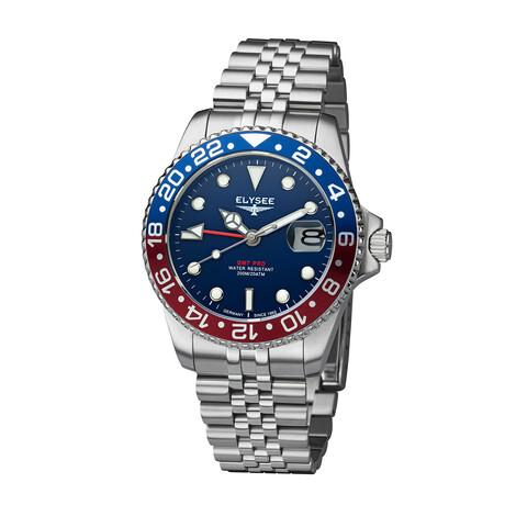 Elysee GMT Pro Quartz // 80594