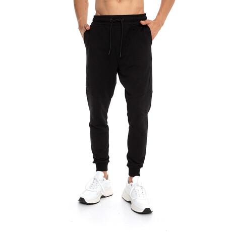 Jake Slim-Fit Jogger Sweatpants // Black (Small)
