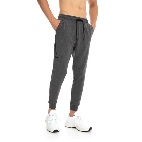 Jackson Slim-Fit Jogger Sweatpants // Anthracite (Small)