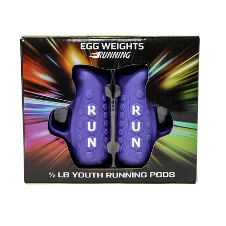 Youth Running Pods // 0.5 lb Set (Black)